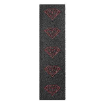 Diamond(ダイヤモンド) BRILLIANT GRIPTAPE (RED) グリップテープ デッキテープ【スケートボード/スケボー/SKATEBOARD】