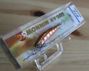 バスデイシュガーミノーSG50F【50mm/2.2g】【赤金ヤマメ】【しもつけカラー】
