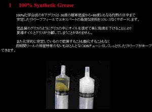 IOSファクトリーギアグリス【内容量:8g】