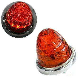 回轉原始物LED萬能筆電燈☆[LED鑽石萬能筆電燈DC24V(琥珀色/琥珀色)]