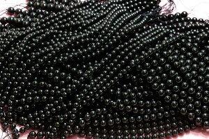 天空の秘境チベット産AAAモリオン12mmブレスレット天然黒水晶モリオンモリオン黒水晶パワーストーン天然石原石
