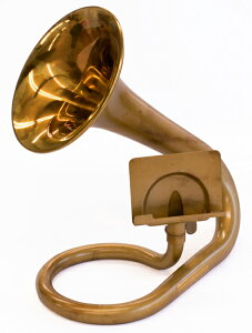 CAROL BRASS Desk Trumpet (アンバーラッカー仕上げ)【スマートフォン、…