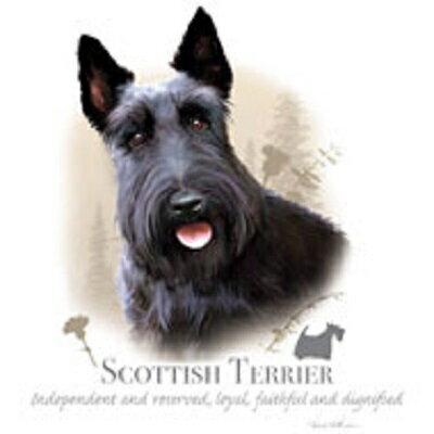 スコティッシュテリア柄のスウェットフルジップパーカーです。(NEW)/ドッグ/犬/イヌ/スコッチ