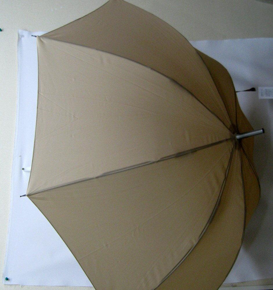 ブルドッグ柄のワンタッチ傘です(お花)