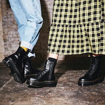 ドクターマーチン 国内正規品 厚底 ジェイドン Dr.Martens JADON 8EYE BOOT 8ホール ブーツ レディース メンズ ブーツ ショート ミドル 15265001 15265100 26378001