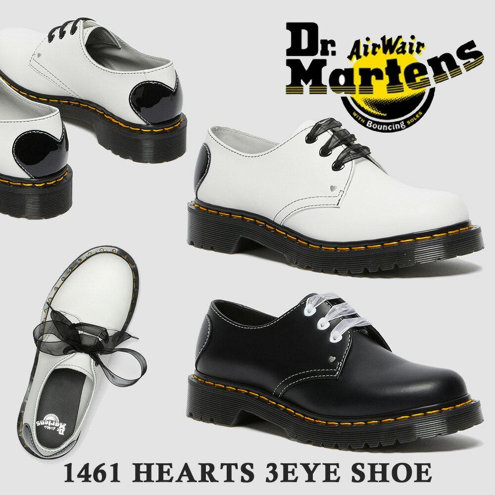 ブーツ, ワーク  1461 HEARTS 3EYE SHOE 3 Dr.Martens 26682001 26682100