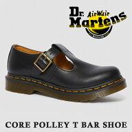 Dr.Martensドクターマーチン14852001COREPOLLEYコアポリーレディースローカットシューズベルトレザーフォーマルカジュアルおしゃれバンドミュージシャン皮靴本革男女兼用プレゼントギフト