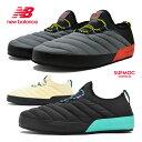 【お買い物マラソン】 ニューバランス モック スリッポン レディース メンズ ウィンター new balance SUFMOC G T C MOC LOW
