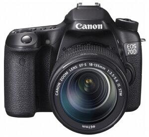 【新品】【正規品】CANON キヤノン EOS 70D EF-S18-135 IS STM レンズキット デジタル一眼レフカメラ キャノン イオスシリーズ 無線LAN機能内蔵モデル EOS70D EOS70D18135LK デジカメ【smtb-TD】