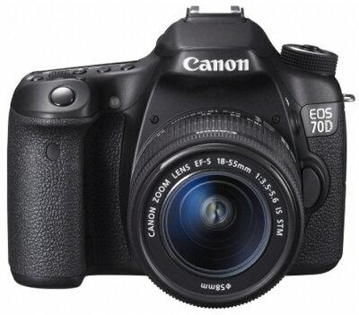 【送料無料】【新品】【正規品】CANON キヤノン EOS 70D EF-S18-55 IS STM レンズキット デジタ...