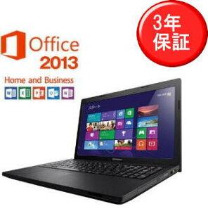 【送料無料】【Windows8】【あす楽対応】【新品】【Office付】Lenovo レノボ G500 ノートパソコ...