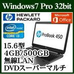 HPX6W59PA#ABJWindows7Corei34GB500GBスーパーマルチドライブ15.6型無線LANofficeMicrosoftOfficePersonal2013