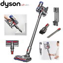 ダイソン Dyson V7 Slim スリム 掃除機 コードレスクリーナー サイクロン式 スティッククリーナー Dyson V7 Slim SV11SLM サイクロン式掃除機 ダイソン V7スリム2.2kg 軽量 モーターヘッド 隙間ノズル コンビネーションノズル 収納ブラケット