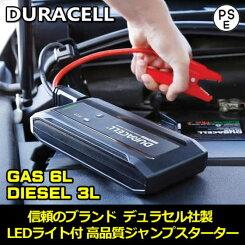 デュラセルジャンプスターターエンジンスターターガソリン車・バイク・スマートホンモバイルバッテリー非常用電源USB対応JUMPSTARTERバッテリーあがりに!