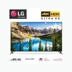 ★【在庫あり・即日発送】LGエレクトロニクス・ジャパン 液晶テレビ TV IPSパネル 4K対応 55V型 地上 BS 110度CSチューナー内蔵 USB端子 2チューナー 無線LAN Active HDR 55UJ6100