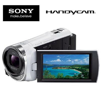 【送料無料】【新品】SONY HDR-CX420 W ホワイト ソニー デジタルHDビデオカメラ ハンディカム ...