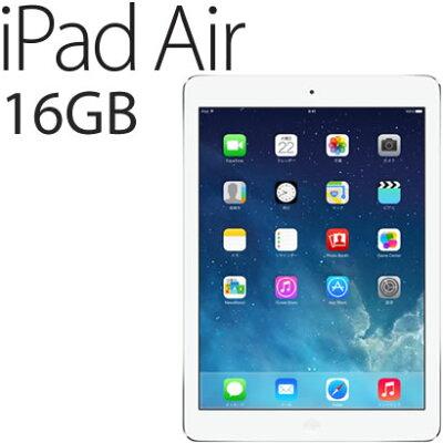 【延長保証対象外商品】【送料無料】【あす楽対応】【新品】Apple iPad Air Wi-Fiモデル 16GB ...