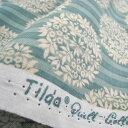 Tildaから、ふんわりとした色合いの新柄生地入荷しました生地 Tilda ティルダ Flower Ball Tea...