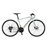 送料無料 ARAYA(アラヤ) クロスバイク マディフォックス・クロス MFX パールホワイト 【2020年モデル】【完全組立済自転車】