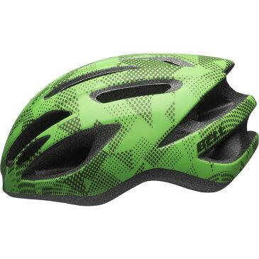 【キャッシュレス5%還元対象店】BELL(ベル) 子供用ヘルメット クレストR ジュニア ライム/クリプトナイト UYサイズ