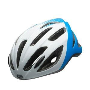 【ポイント10倍!】BELL(ベル) 子供用ヘルメット クレストR ジュニア ホワイト/フォースブルー UYサイズ