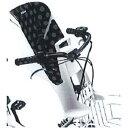 【メーカー純正品】【正規代理店品】ブリヂストン bikke グリ、モブ用 フロントチャイルドシートクッション FBIK-K KDG ドット(ブラック) 【自転車用品】