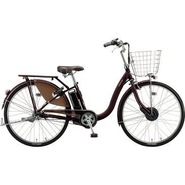 【楽天スーパーSALE 開催中】 ブリヂストン 電動自転車 フロンティアDX F4DB49 F.Xカラメルブラウン 【2019年モデル】【完全組立済自転車】