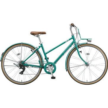 【防犯登録サービス中】ブリヂストン シティサイクル自転車 マークローザ7S MR77ST EXCBTグリ-ン 【2019年モデル】【完全組立済自転車】