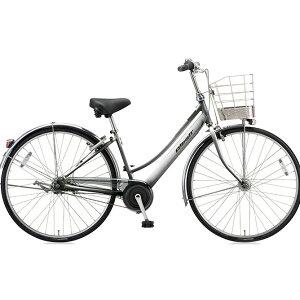 ブリヂストン(BRIDGESTONE) シティサイクル アルベルト L型 ABL73 M.スパークルシルバー 27インチ3段変速 【2018年モデル】【完全組立済自転車】