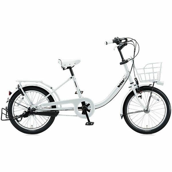 【ポイントアッププログラム開催中!】ブリヂストン(BRIDGESTONE) シティサイクル bikke2 b(ビッケツーb) BK03T6 E.XBKホワイト 点灯虫モデル【2016年モデル】【完全組立済 自転車】:自転車のトライ