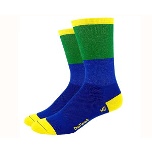 Defeet(ディフィート) ソックス AI 6 Blockhead Blue/Green S