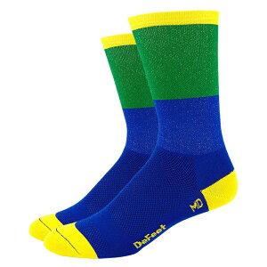 Defeet(ディフィート) ソックス AI 6 Blockhead Blue/Green M
