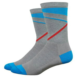 Defeet(ディフィート) ソックス WI Comp 6  Gravity Lead/Blue S