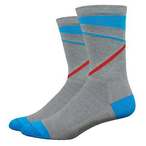 Defeet(ディフィート) ソックス WI Comp 6  Gravity Lead/Blue M
