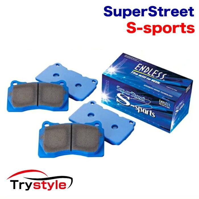 ENDLESS エンドレス EP385SSS SSS SuperStreet S-Sports ストリートスポーツブレーキパッド 適合車種:トヨタ エスティマ アルファード 等 低ダストと初期制動のバランスモデル!