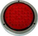 オリジナルテールランプの製作に最適!  LED36 テールランプ 丸型 24V ブレーキ ランプ用...