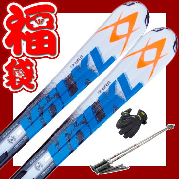 【スキー福袋】VOLKL (フォルクル) スキー4点セット カービングスキー RTM73 メンズ レディース ロッカー 153/159/166/173 金具付き 初心者におすすめ 【RCP】【初心者】【オールラウンド】【メール便不可・宅配便配送】