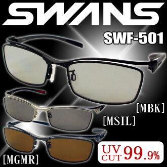 Swan sports sunglasses SWANS sunglasses SWF-501 MBK MGMR MSIL mens popular polarized lenses