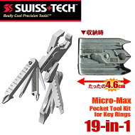 SWISS+TECH�ݥ��åȥġ��륭�å�19-in-1Micro-Max�ޥ�����ޥå����ڥ����OK��