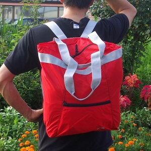 タトンカ★マーケットバッグプラス(黒・赤)