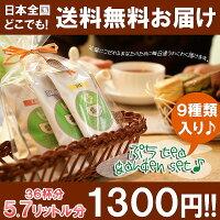 送料無料でリーフ9種×6gぷちティーガーデンセット