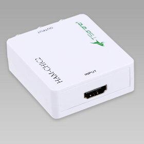 TSdenaHDMI→アナログ(コンポジット)小型変換コンバーターHAM-CHIC2[相性保証付き]