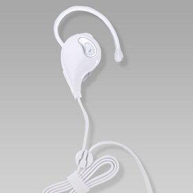 Bluetoothワイヤレスイヤホン(英国CSR社チップ搭載/apt-X対応)ライトグリーン/ホワイト全2色