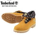[ティンバーランド]TimberlandRoll-TopFabric6152Bメンズ|メンズブーツ|本革上質|2WAY|人気ブランド|イエロー