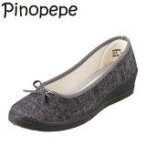 PINOPEPEピノペペPN0020レディースバレエシューズウェッジソールローヒールレディース