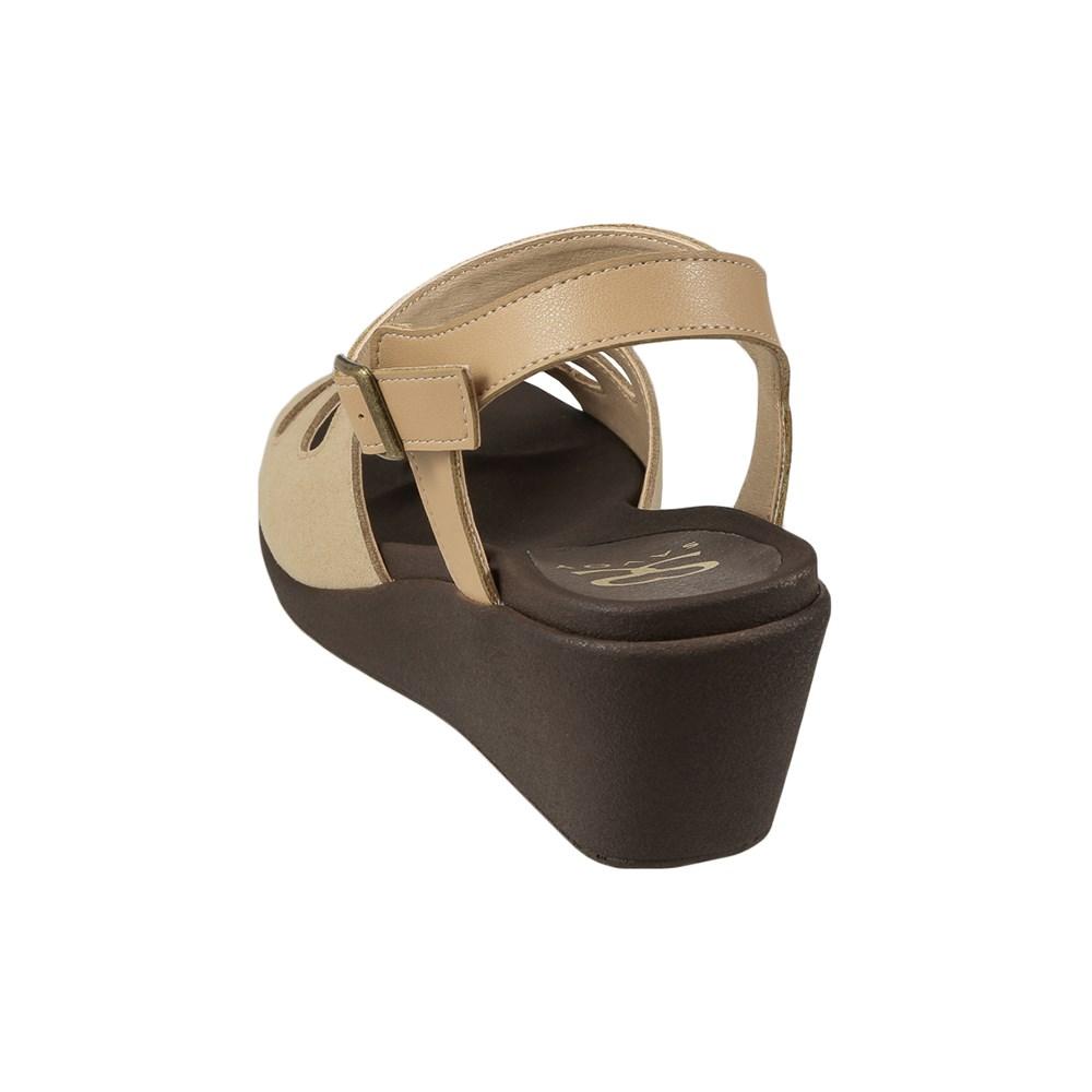 サボイ SAVOY サンダル SA94080 レディース靴 靴 シューズ E相当 ウェッジソールサンダル 軽量 アンクルストラップ 歩きやすい 大きいサイズ対応 25.0cm 25.5cm ベージュ SP