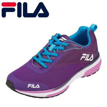 [マラソン期間中ポイント5倍]フィラ FILA スニーカー FC-2207W レディース靴 靴 シューズ 3E相当 ランニングシューズ ローカットスニーカー VelocitaW ブランド 人気 おしゃれ カラフル 大きいサイズ対応 24.5cm パープル SP