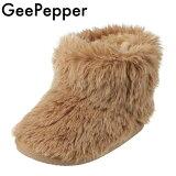 GEEPEPPERジーペッパーR43836-89キッズ・ジュニアムートン風ブーツショートブーツ子ども女の子かわいいキッズ・ジュニア