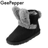 GEEPEPPERジーペッパーR43874-89キッズ・ジュニアムートン風ブーツショートブーツ子ども女の子ウサギの耳ウサ耳キッズ・ジュニア