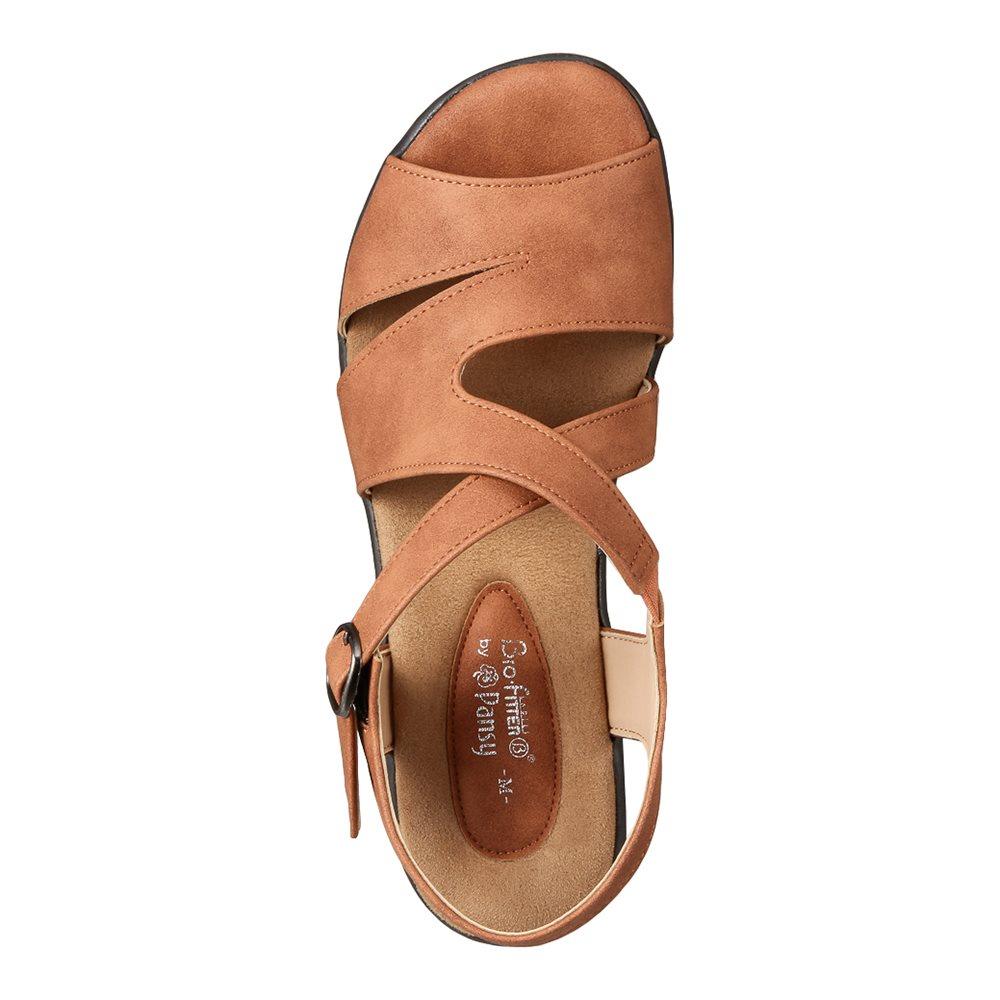 バイオフィッター バイパンジー Bio Fitter BFL2755 レディース靴 3E相当 コンフォートサンダル フレキシブル クッション性 小さいサイズ対応 大きいサイズ対応 ライトブラウン SP